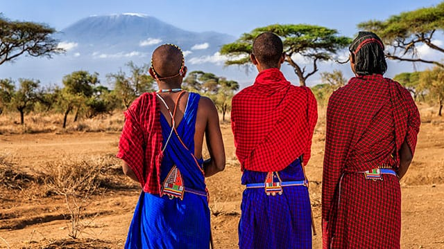 Everyone speaks Swahili